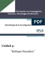 Diapositivas 4. Profincyt - Métodología Cualitativa
