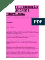 TEORIA E INTRODUÇÃO A PUBLICIDADE E PROPAGANDA
