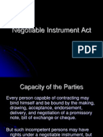 Negotiable Instrument Act (1)