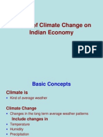 Effects of Climatic Change