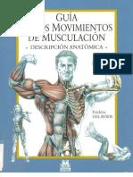 2962663 Frederik Delavier Guia de Movimientos de Musculacion