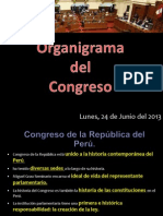 Organigrama Del Congreso