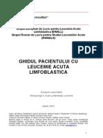 Ghid Al Pacientului Cu Leucemie Acuta