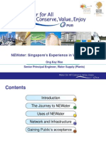 05. NEWater - Singapore's Experience in Water Reuse v1 - Snr PE Ong Key Wee