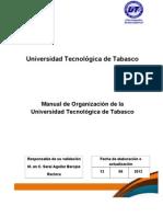 MANUAL DE ORGANIZACIÓN UTTAB (1)