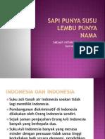 reformasi Indonesia gagalkah?