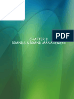 Brand Management, Chapter 1, Kevin Lane Keller