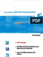 Training Material_WCDMA RAN KPI Introduction