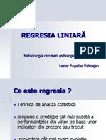 REGRESIA LINIARA