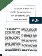 NICOS POULANTZAS, Introduccion al estudio del concepto de hegemonia.pdf