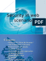 Security in Web Scenario