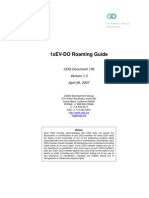 1xEV-DO Roaming Guide, Ver 1.0, July 12, 2006 CDG136