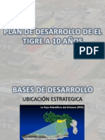 Olan Estrategico de Desarrollo Del Tigre