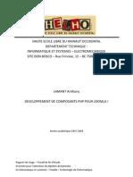 1214932071-Developpement de Composants PHP Pour Joomla!