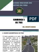 01.00 Clase Introductoria Caminos i 2009 II