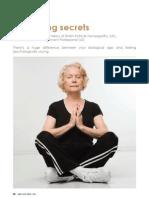 Anti Aging Secrets