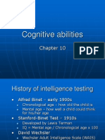 Chapter 10 Cognitiveabilities Basic