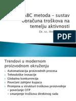 ABC metoda  sustav obračuna troškova na temelju