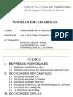 Modelos legales empresariales