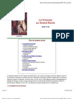 02. Le Grand Siècle