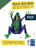 Powderhorn Art Fair 2012 Program