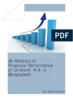 An Analysis of Financial Performance