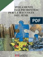 I Popolamenti Forestali Piemontesi Per La Raccolta Del Seme