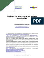 Ebusiness Modelos de Negocio