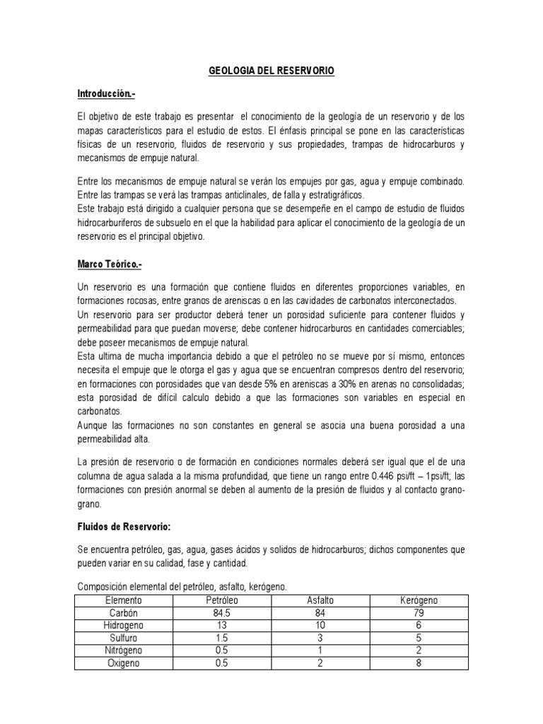 Famoso Geólogo Del Petróleo Reanudar Objetivo Modelo - Ejemplo De ...