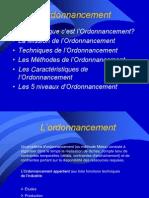 Juan Ordonnancement