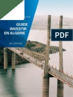 Guide investir en Algérie- 2011