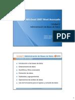 02 UT02 Excel 2007 Nivel Avanzado