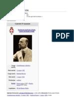 D'Annunzio History, in Italian