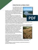 Proceso Constructivo de La Presa Itaipu