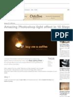 Amazing Photoshop Light Effect in 10 Steps _ Abduzeedo _ Graphic Design Inspiration and Photoshop Tutorials