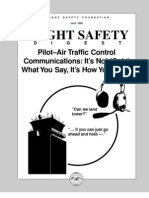 Pilot- ATC Communications