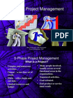 5 Phases PMP