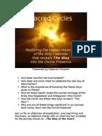 Sacred Cycles Summary