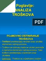 7. ANALIZA TROŠKOVA