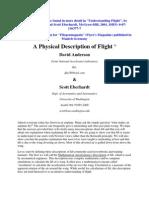 A Physical Description of Flight