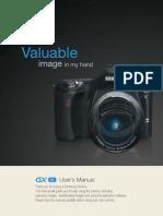 Samsung DSLR GX-1L User Manual