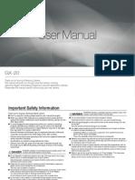 Samsung DSLR GX-20 User Manual