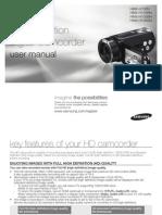 Samsung Camcorder H100N User Manual