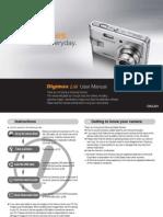Samsung Camera L60 User Manual