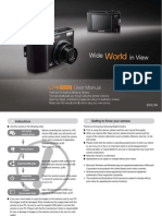 Samsung Camera L74WIDE User Manual