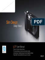 Samsung Camera L77 User Manual