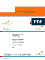 Oracle Web Adi