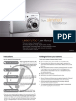 Samsung Camera L830 / L730 User Manual