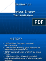 Wireless Energy Transmission