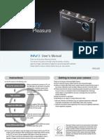 Samsung Camera NV3 User Manual
